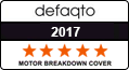 defaqto 5 star rated Breakdown cover 2016