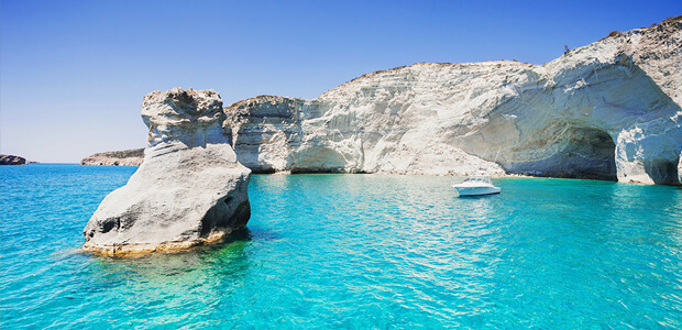Image of a Greek island