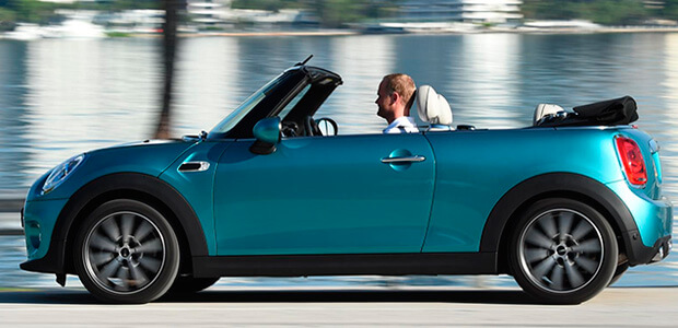 An image of a convertible car