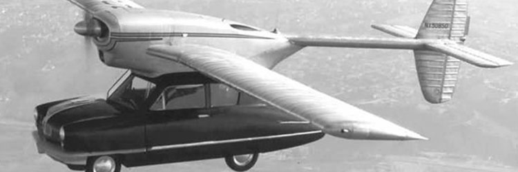 ConvAirCar car plane with side-opening door