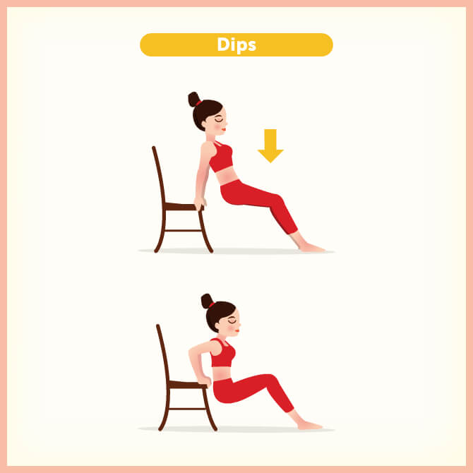 How to do dips