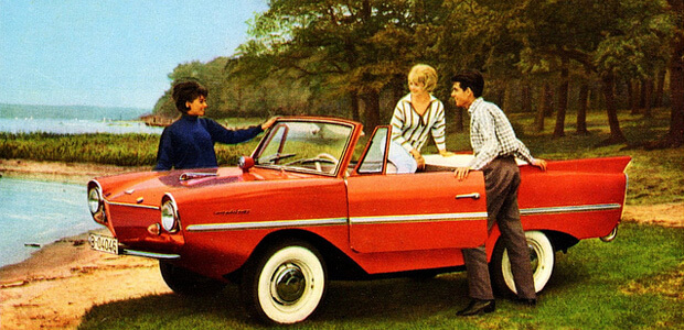 Floating Car Amphicar