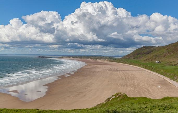 Rhossili Bay, Gower, Wales