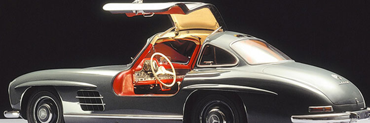 Mercedes 300 SL with side-opening door