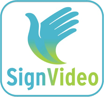 sign video logo
